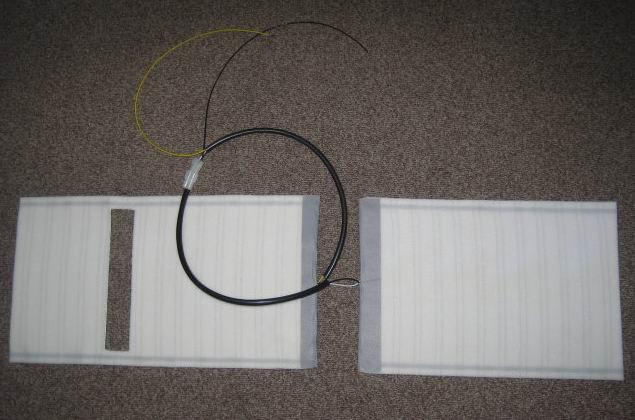 Встраиваемый модуль обогрева автокресла